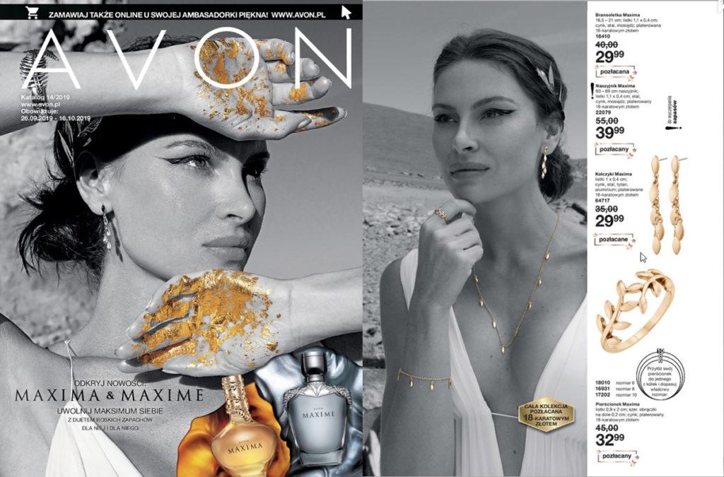Katalog Avon nr 14 - kolekcja Maxima