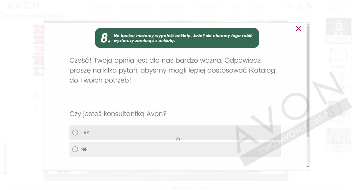 Ankieta iKatalogu Avonu