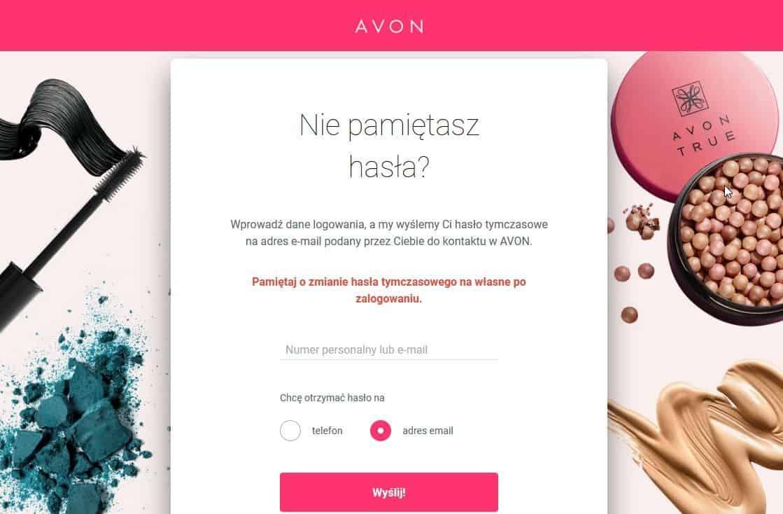 Avon - Nie pamiętasz hasła
