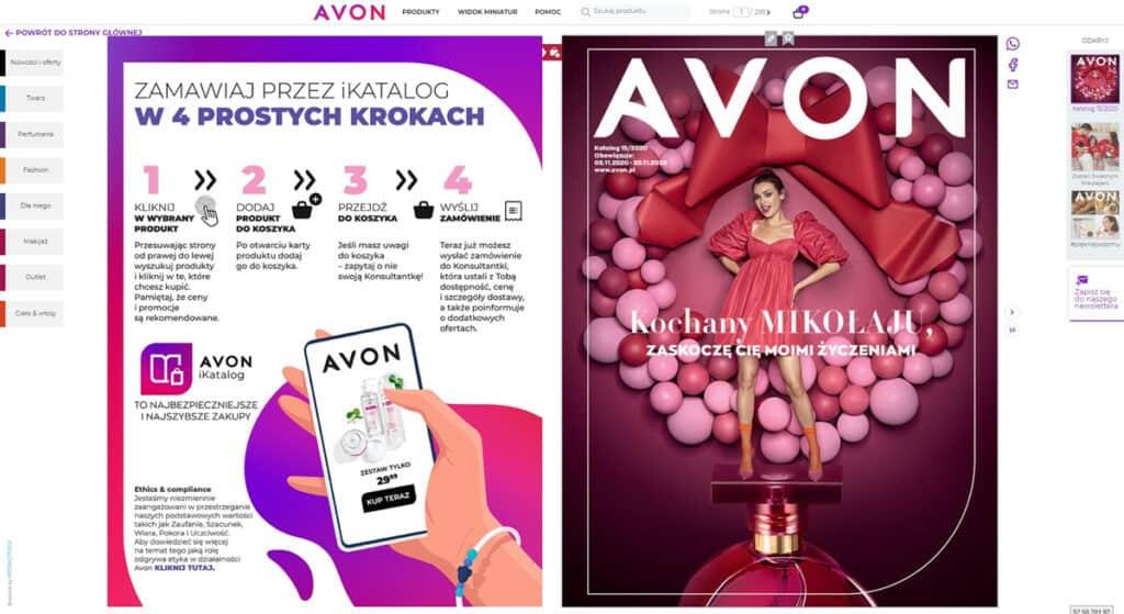 iKatalog Avon w wersji online